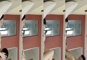 妻子在家偷男人被老公装的隐藏摄像头全程拍下.mp4