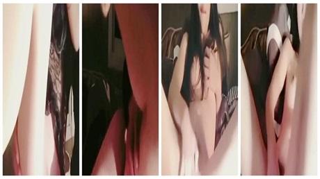 模特身材颜值美女和粉丝炮友啪啪干完还意犹未尽 对着镜头自己再一次弄出水.mkv