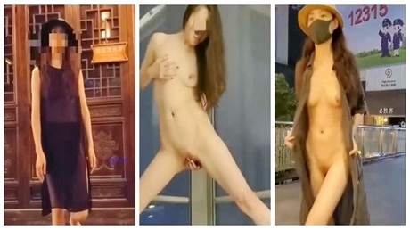 模特heel第三季,成都杭州街头露出ox